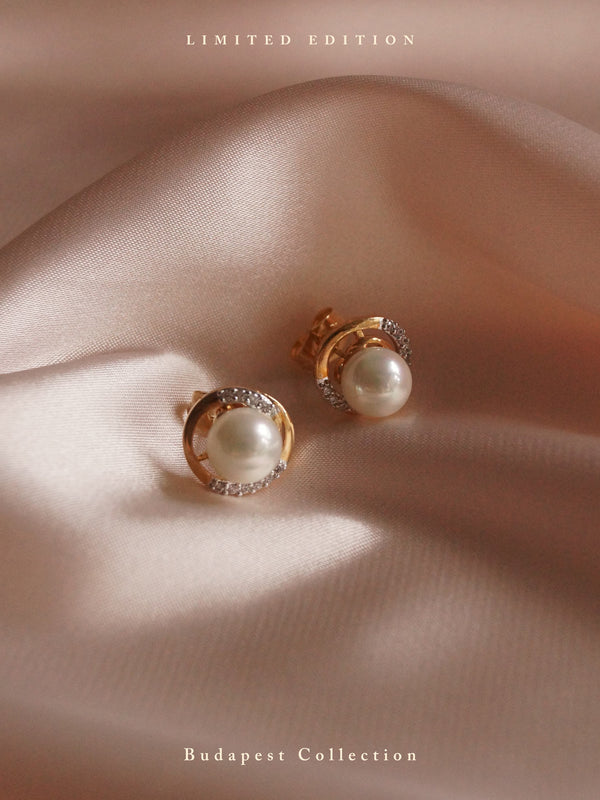 Hadassah Earstuds *Gold-plated // GABI EXCLUSIVE
