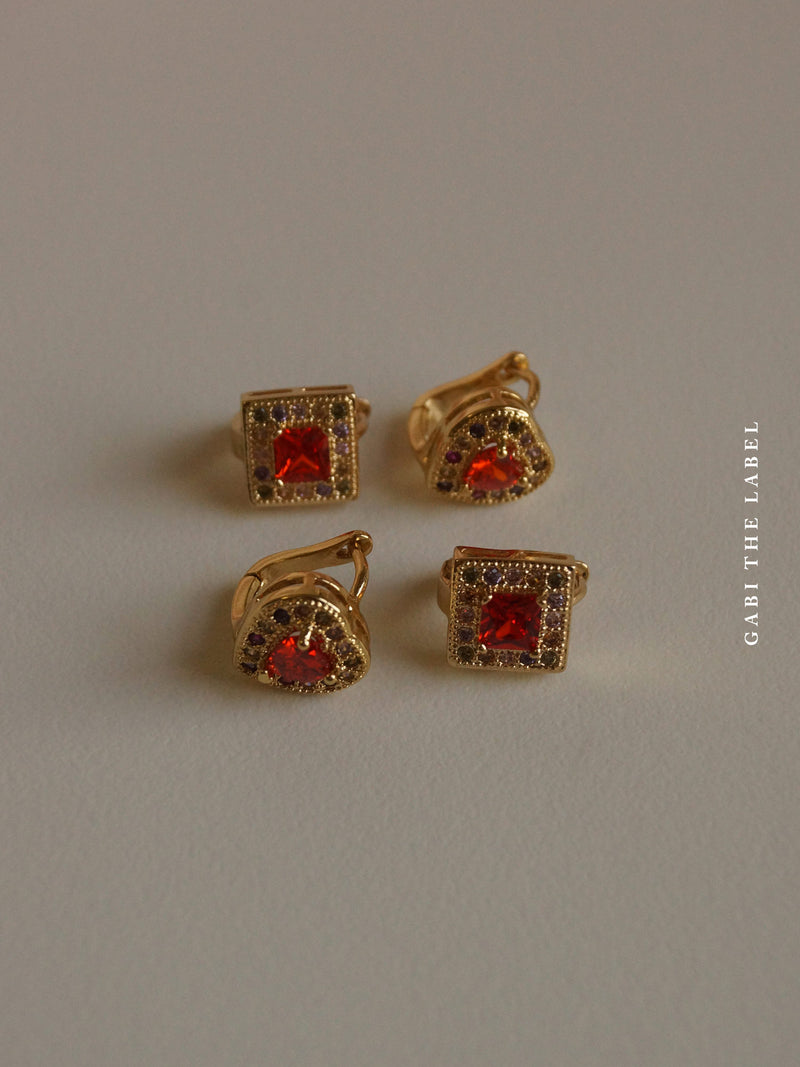 HERMIONE Earrings *Gold-plated