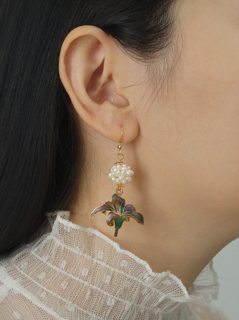 HARUE Earrings *18K Gold-filled