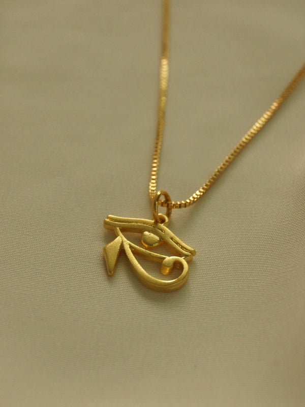 Eye of Horus Necklace *18K Gold-plated