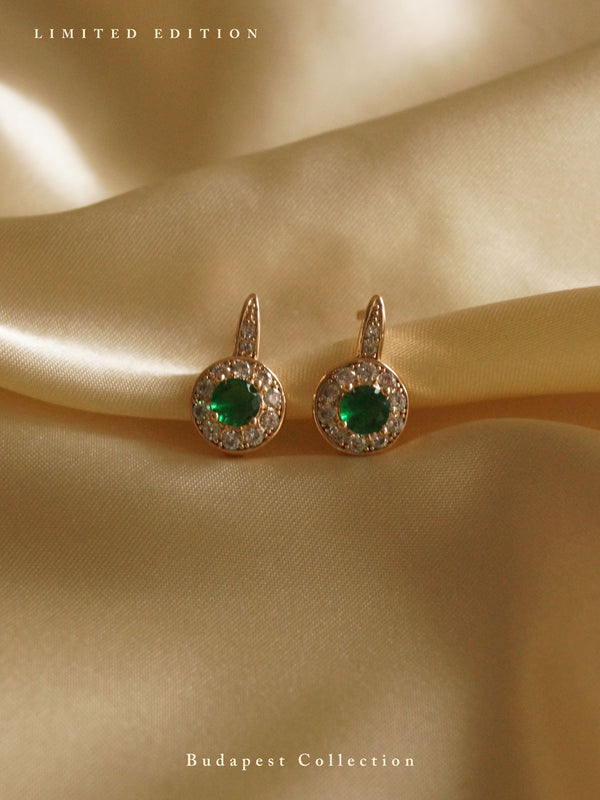 KATA Earrings - Jade Green *Gold-plated // GABI EXCLUSIVE