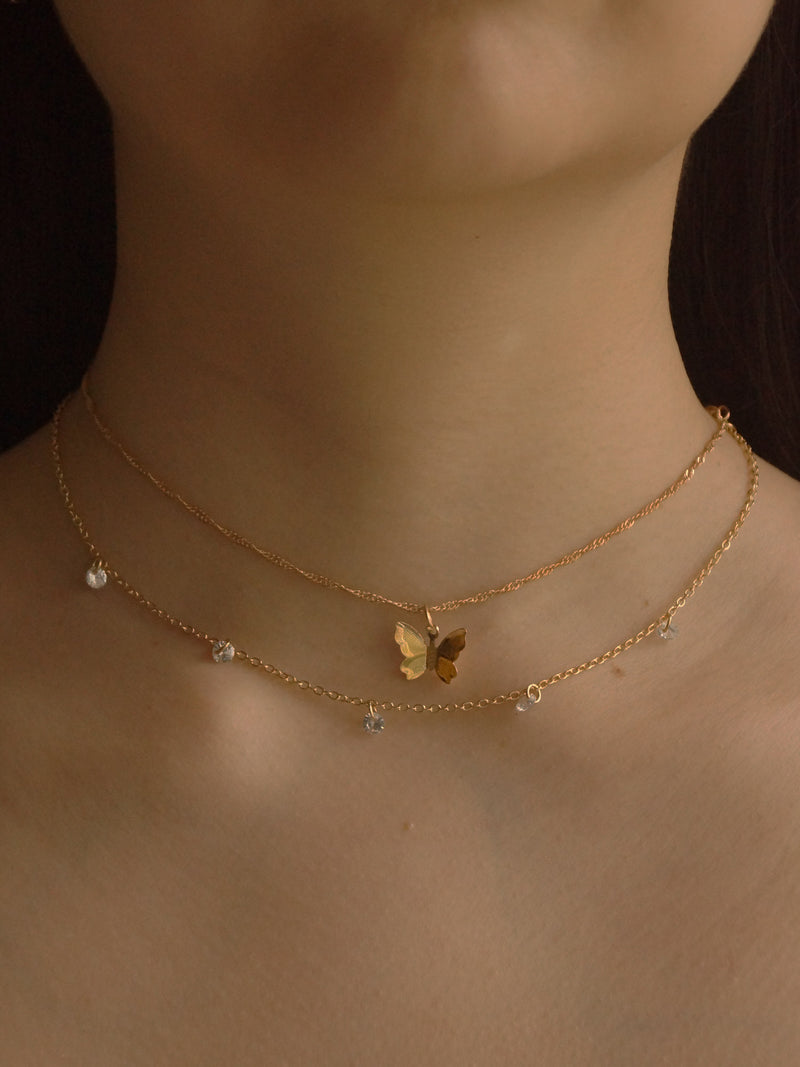 Kita (Butterfly) Necklace