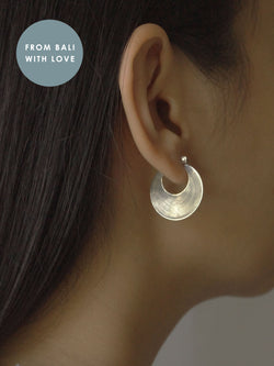 LESTARI Hoops - Small *925 sterling silver // GABI EXCLUSIVE