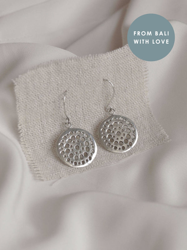 LOTUS ROOTS Earrings *925 sterling silver // GABI EXCLUSIVE