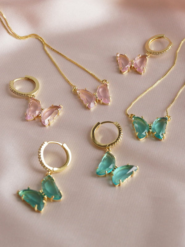 LOVEDAY Bundle - Pink Set *Gold-plated