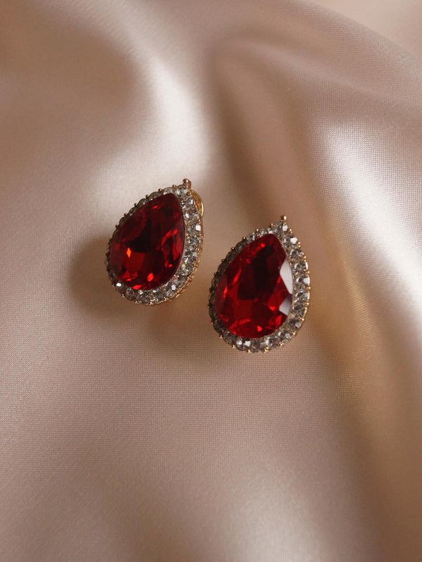 LUCIA Earstuds - Red