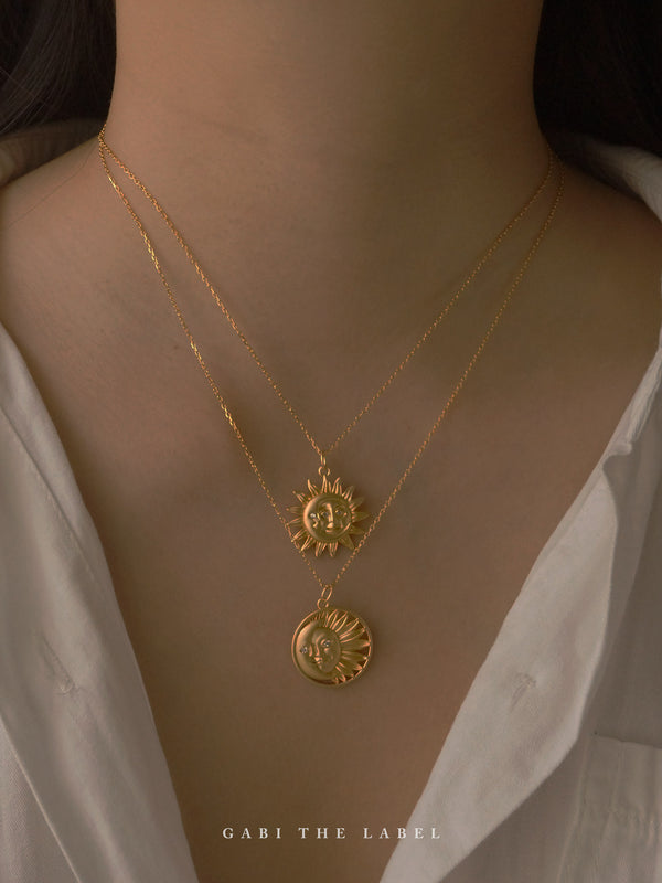 LUNA Necklace *18K Gold-plated
