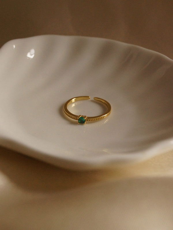 Maho Ring *18k Gold-plated S925 (GABI PREMIUM)
