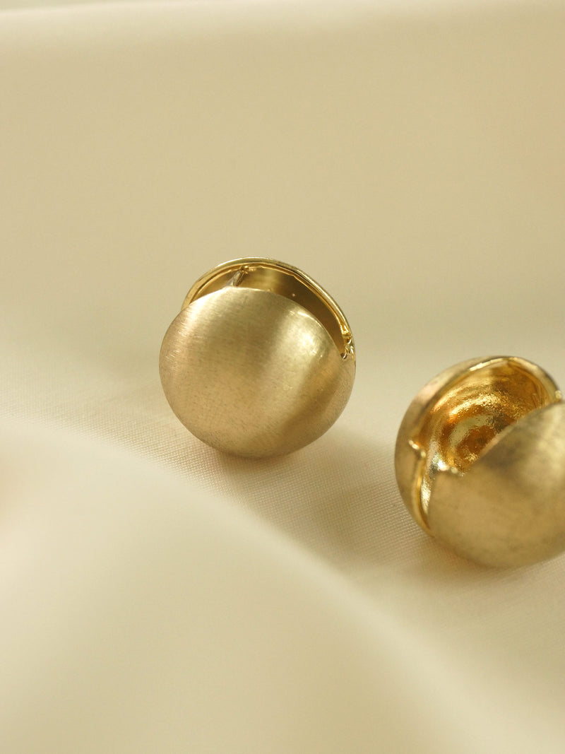 Matte Ball Earrings