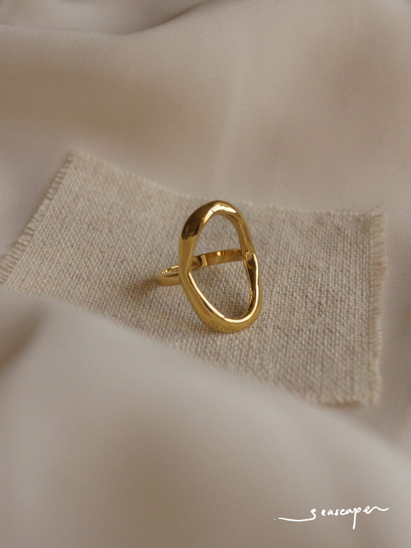 MILAGRO Ring *14K Gold-plated (GABI PREMIUM)