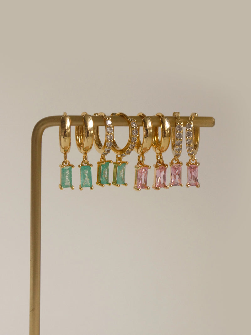 DREAM Huggies - Pink *18K Gold-plated