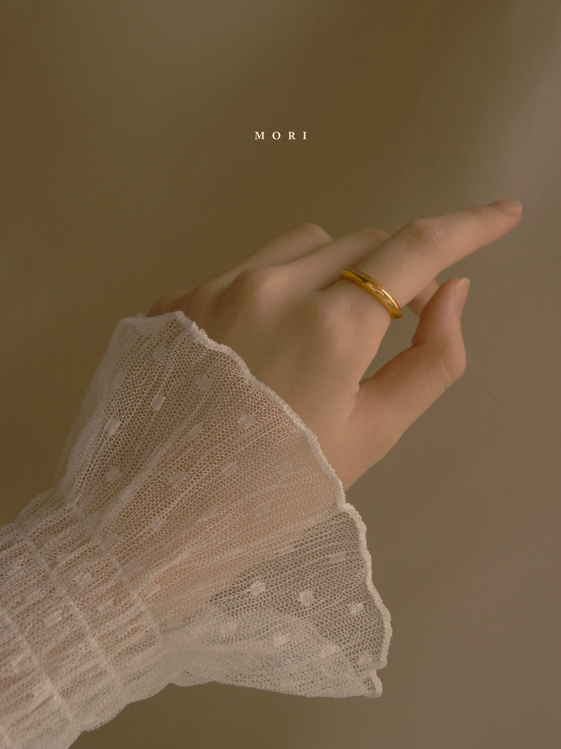Mori Ring *Gold-plated