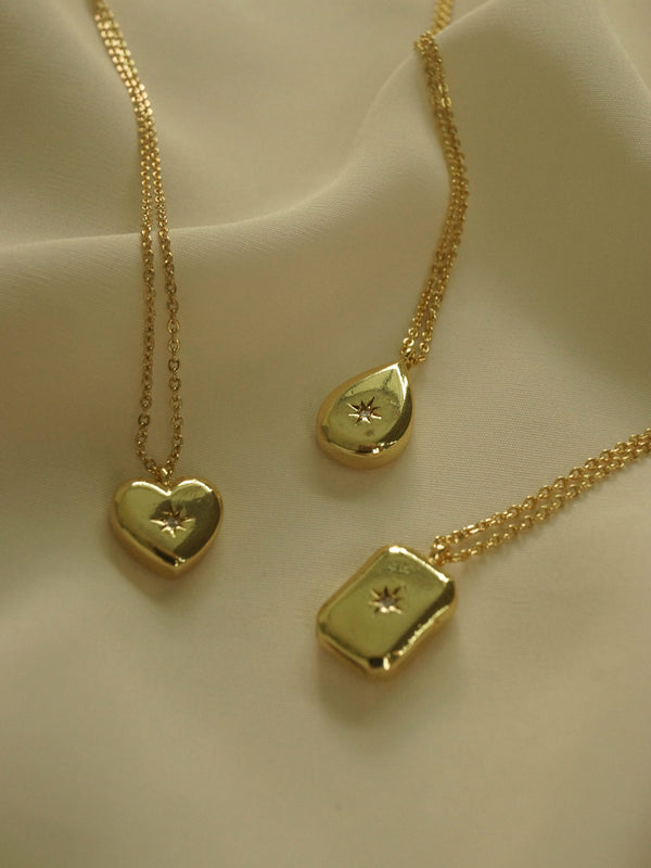 Nova Necklace - Heart *14K Gold-plated