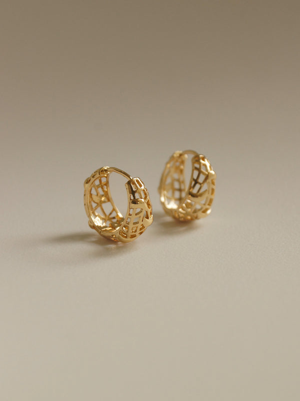 ORLA Hoops *Gold-plated