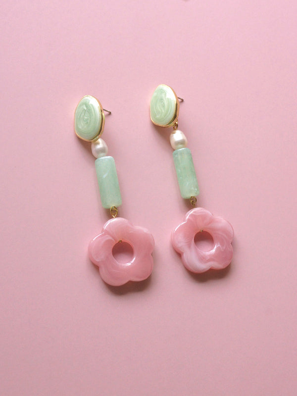 Peony Earrings - Long