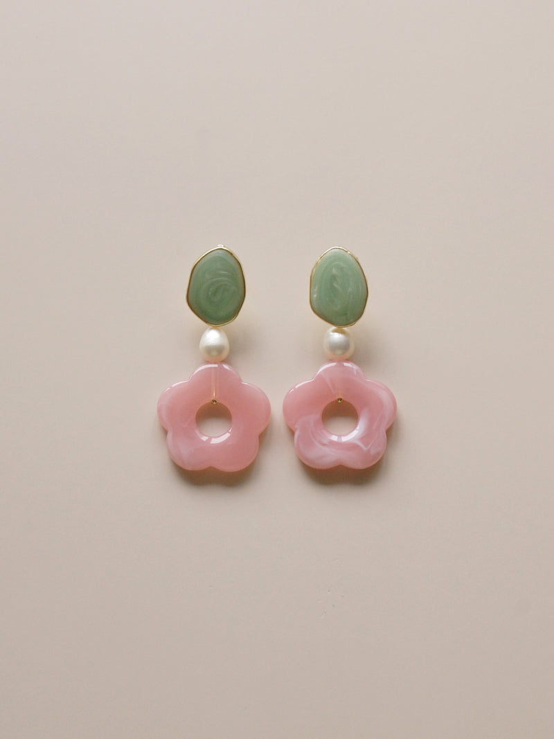 Peony Earrings - Short