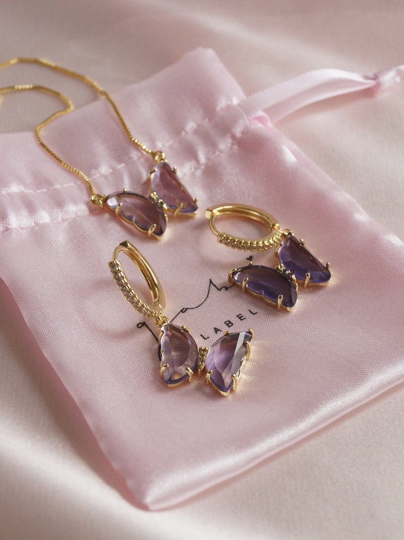 LOVEDAY Bundle - Purple Set *Gold-plated