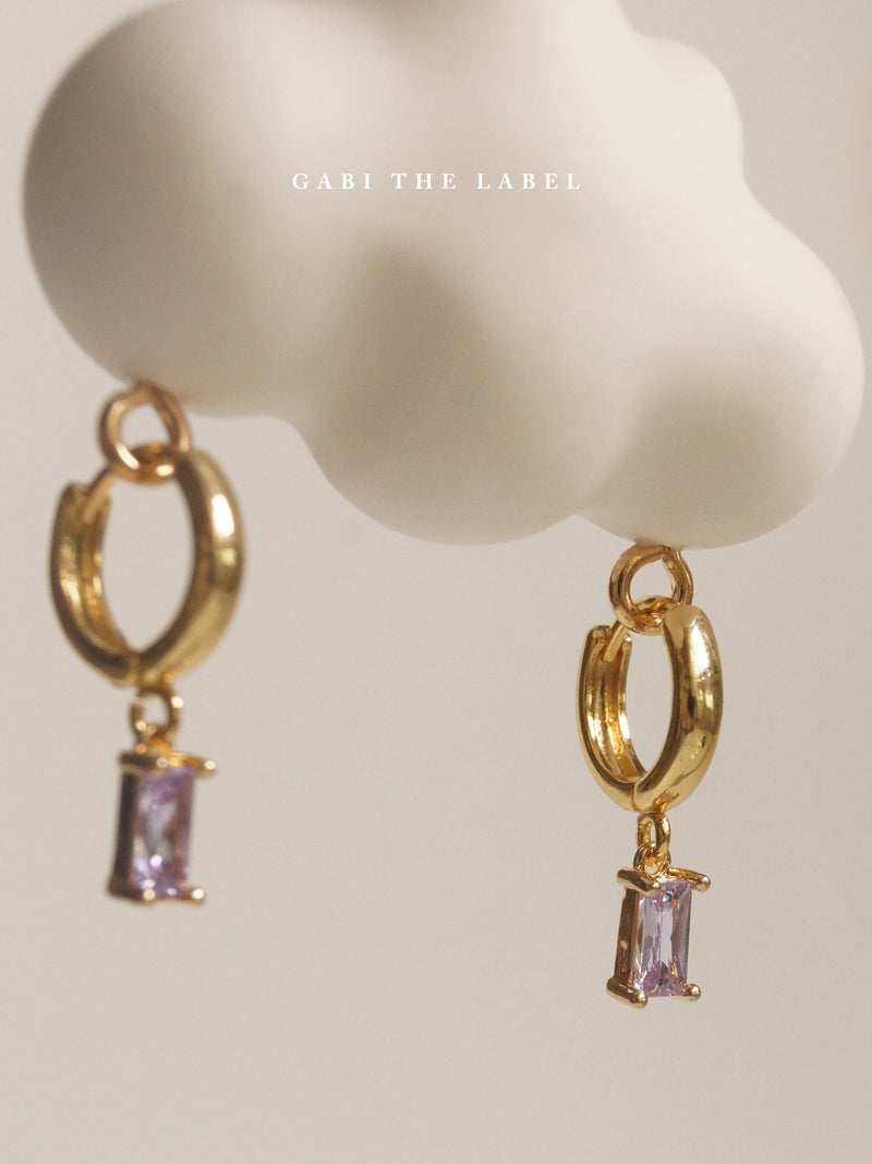 REVERIE Huggies - Lilac *18K Gold-plated