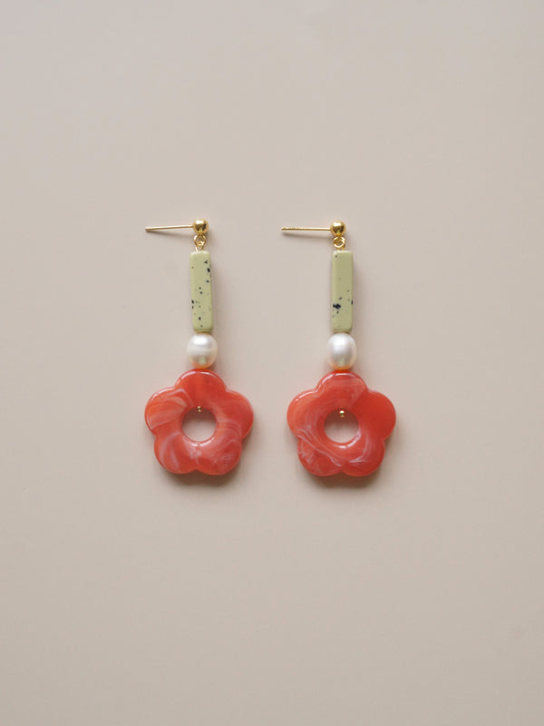 Poppy Earrings *18K Gold-plated