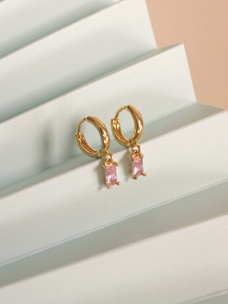 REVERIE Huggies - Pink *18K Gold-plated