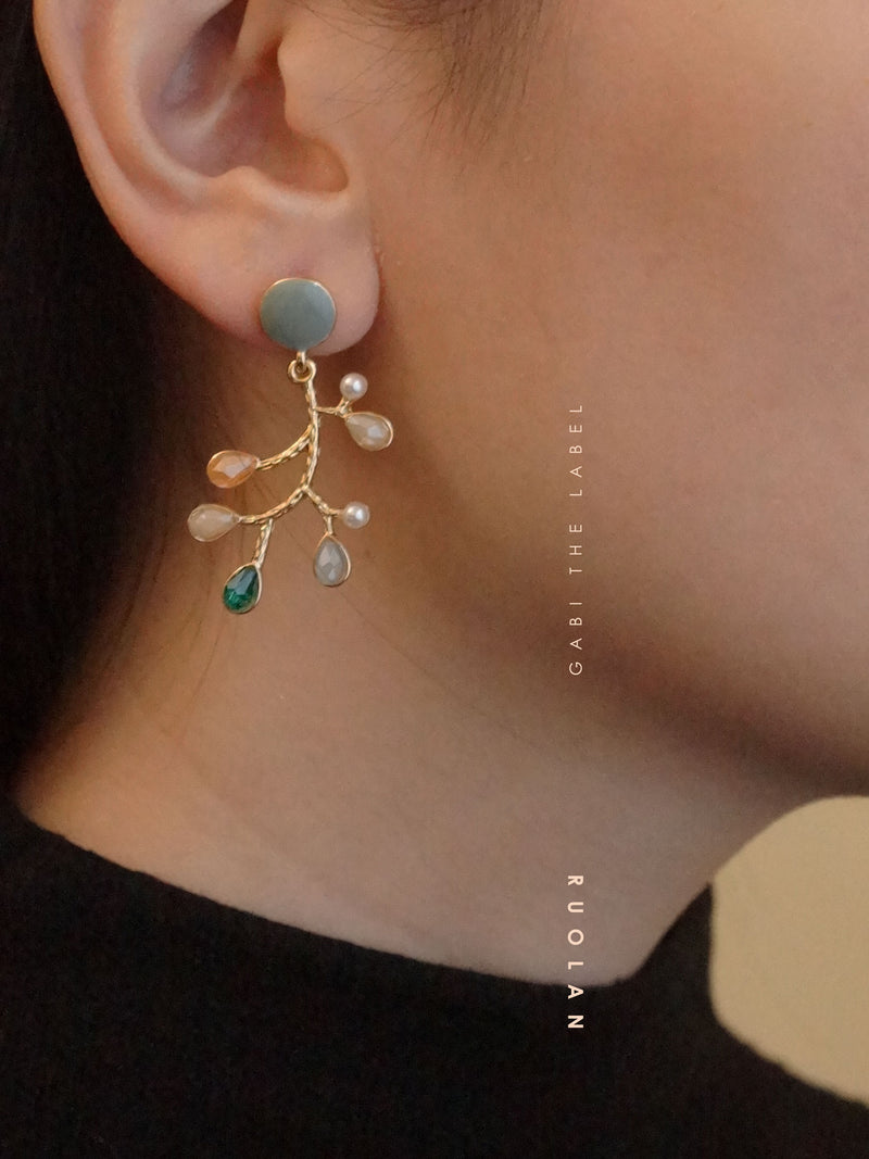 RUOLAN Earrings *S925 Earposts