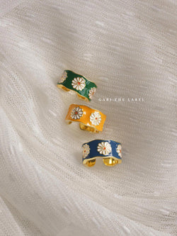 SAORI Ring - Yellow *Gold-plated S925