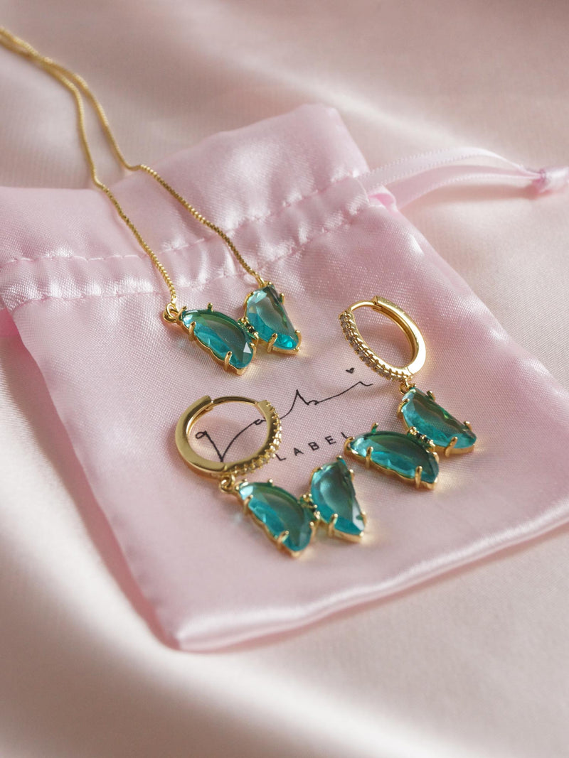 LOVEDAY Bundle - Seafoam Green Set *Gold-plated