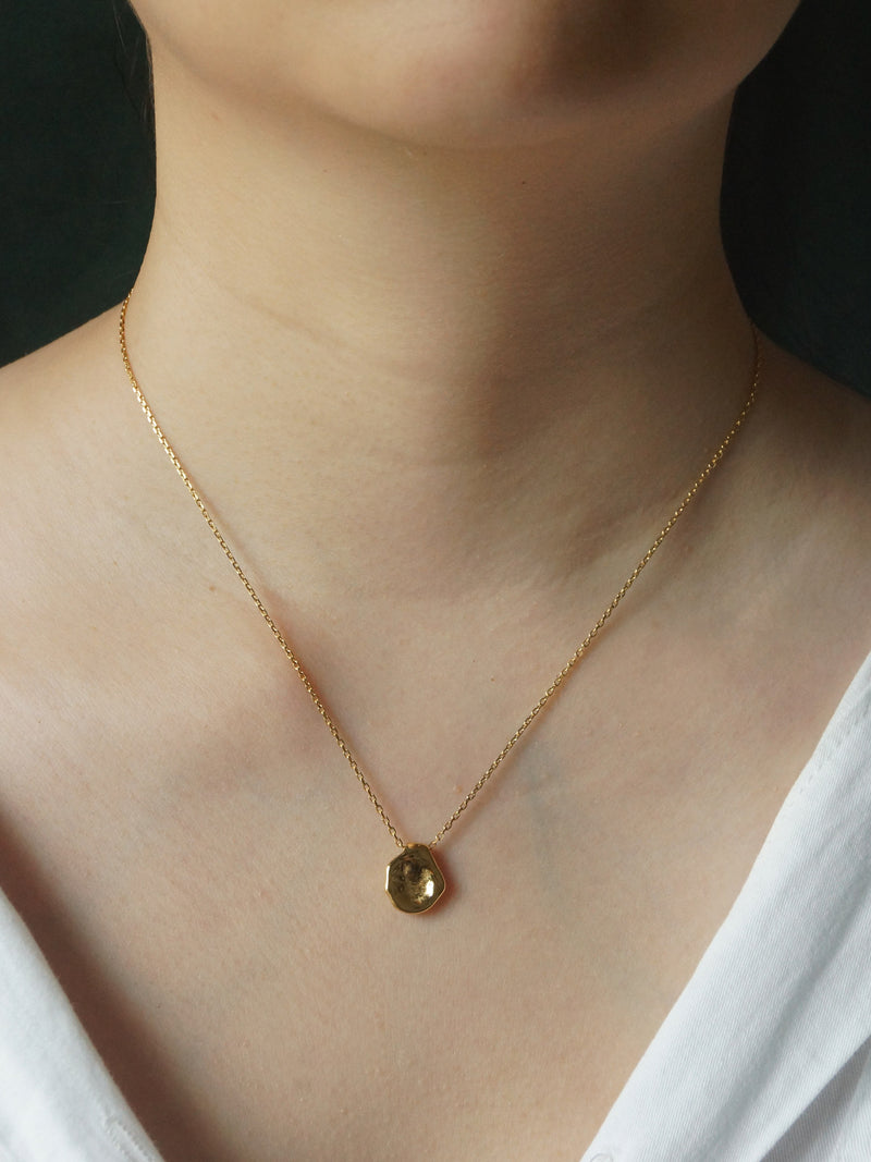 The Sentient Pendant Necklace *18K Gold-plated Stainless Steel