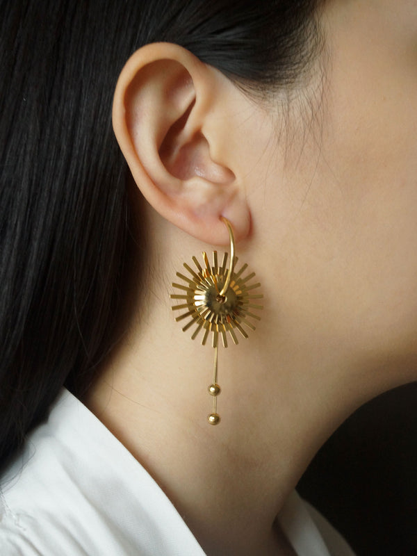 The Sundial Earrings