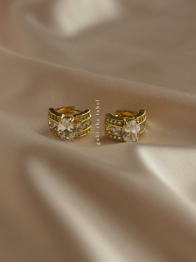 KENNEDY Huggies *18K Gold-plated