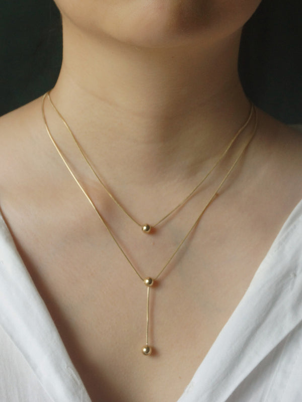 The Utopia Necklace *14K Gold-plated Stainless Steel