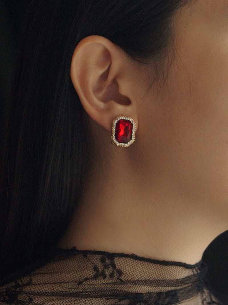 XENIA Earstuds - Red