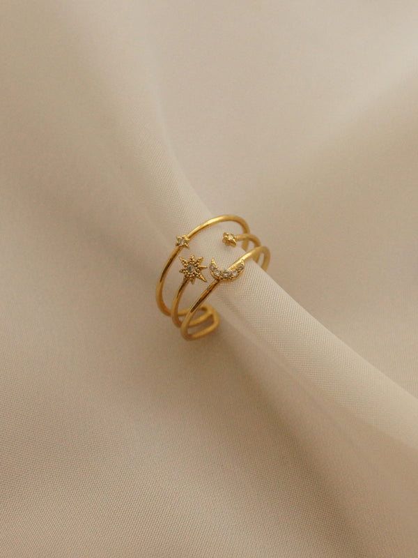 YUE Ring *14k Gold-plated (GABI PREMIUM)