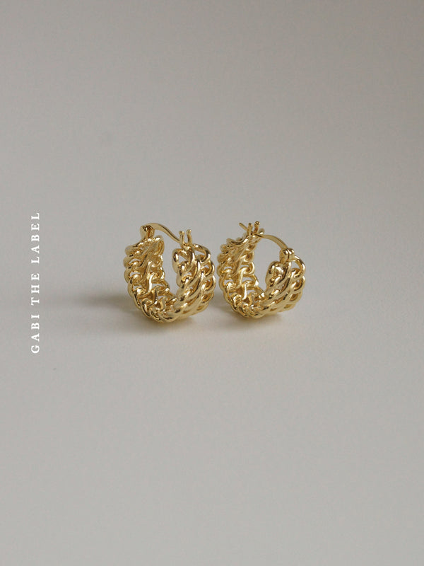 ZARA Hoops *Gold-plated