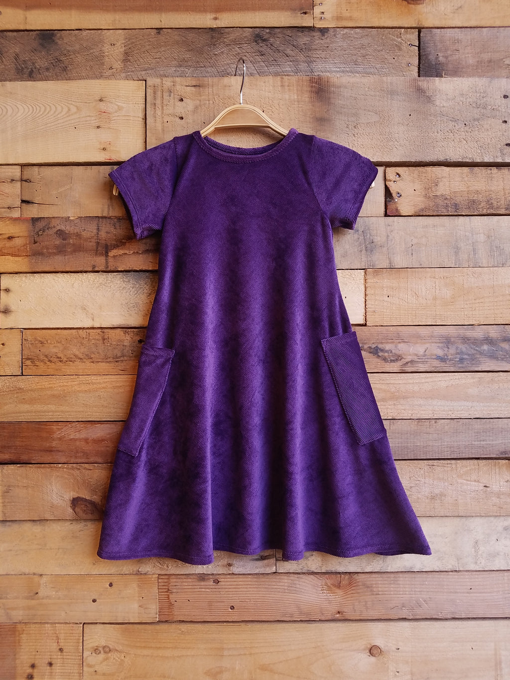 Dallas Swing Dress SAMPLE - Purple