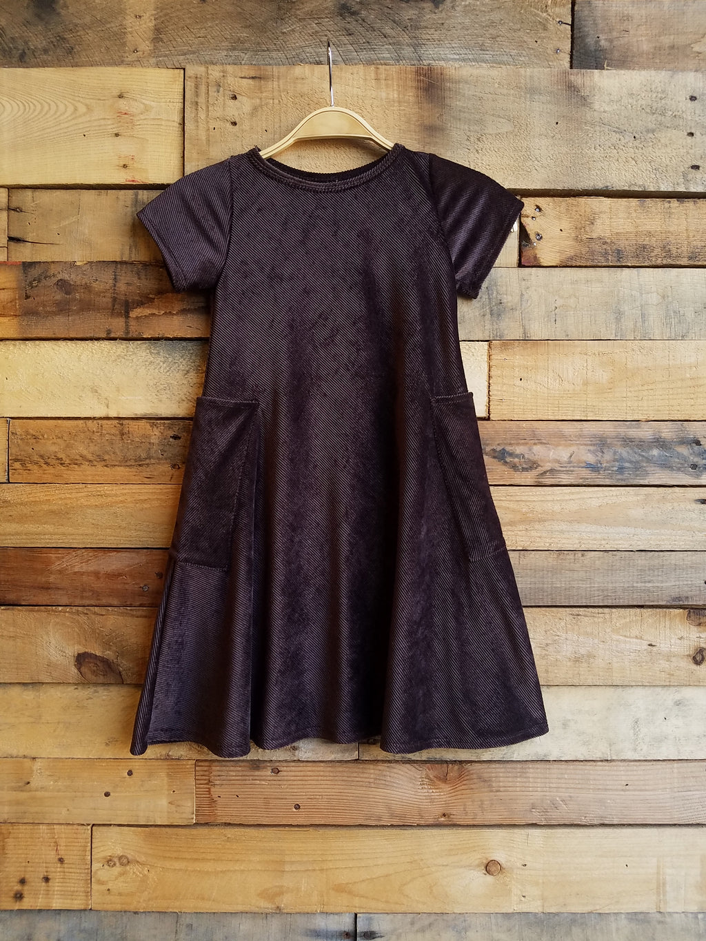 Dallas Swing Dress SAMPLE - Brown