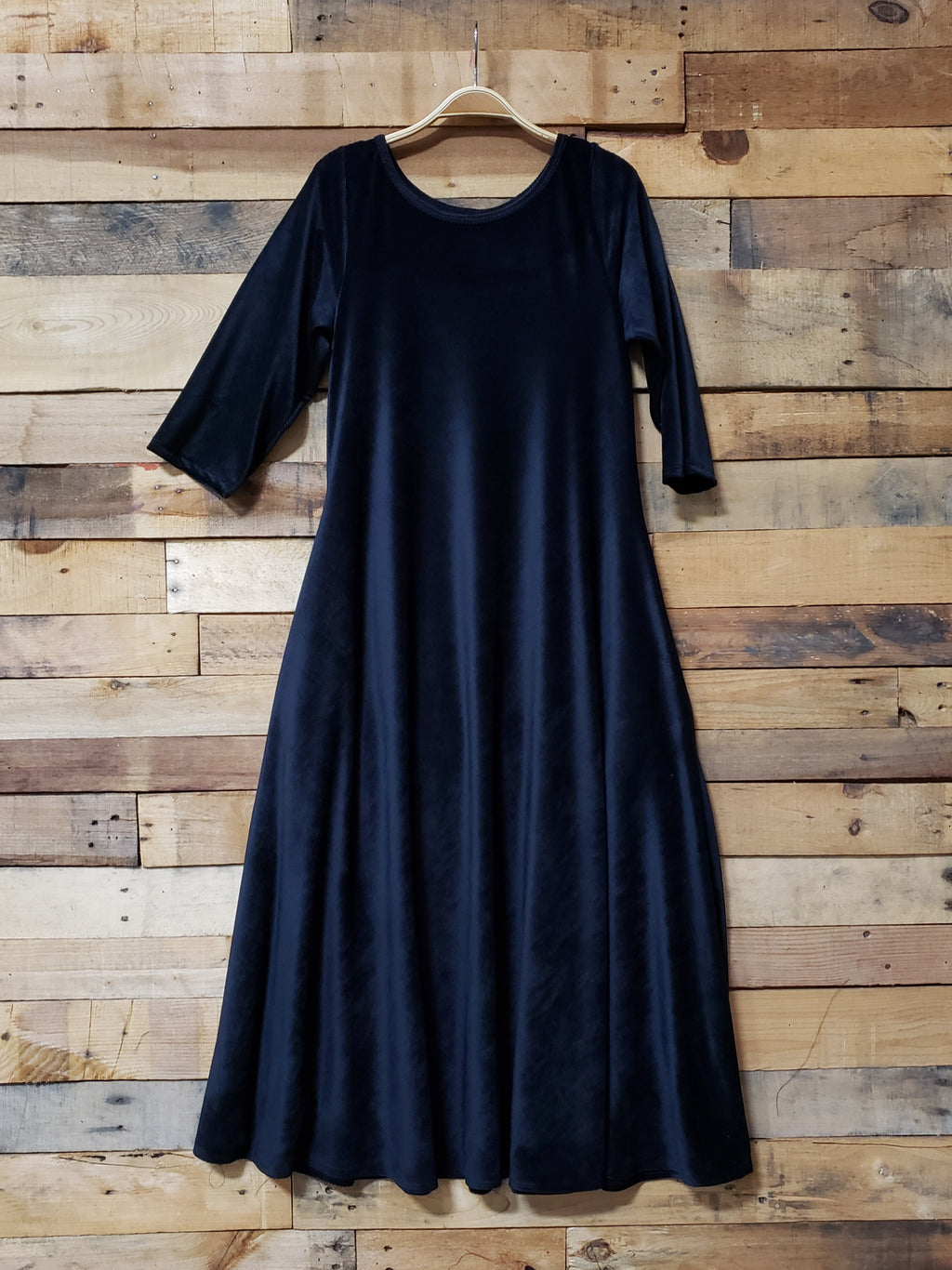 Dallas Swing Dress - Black