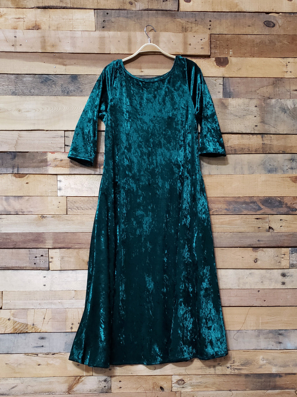 Dallas Swing Dress - Hunter Green
