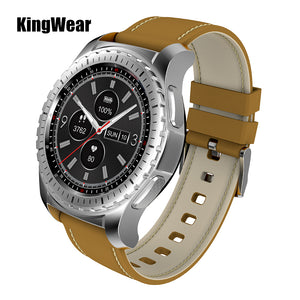 KingWear KW28 Smartwatch Phone 1.3 inch Pedometer Heart Rate Monitor Remote Camera Anti-lost GPS Bluetooth Smart Watch For Men