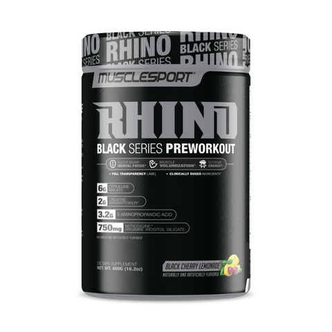 MUSCLESPORT RHINO BLACK SERIES