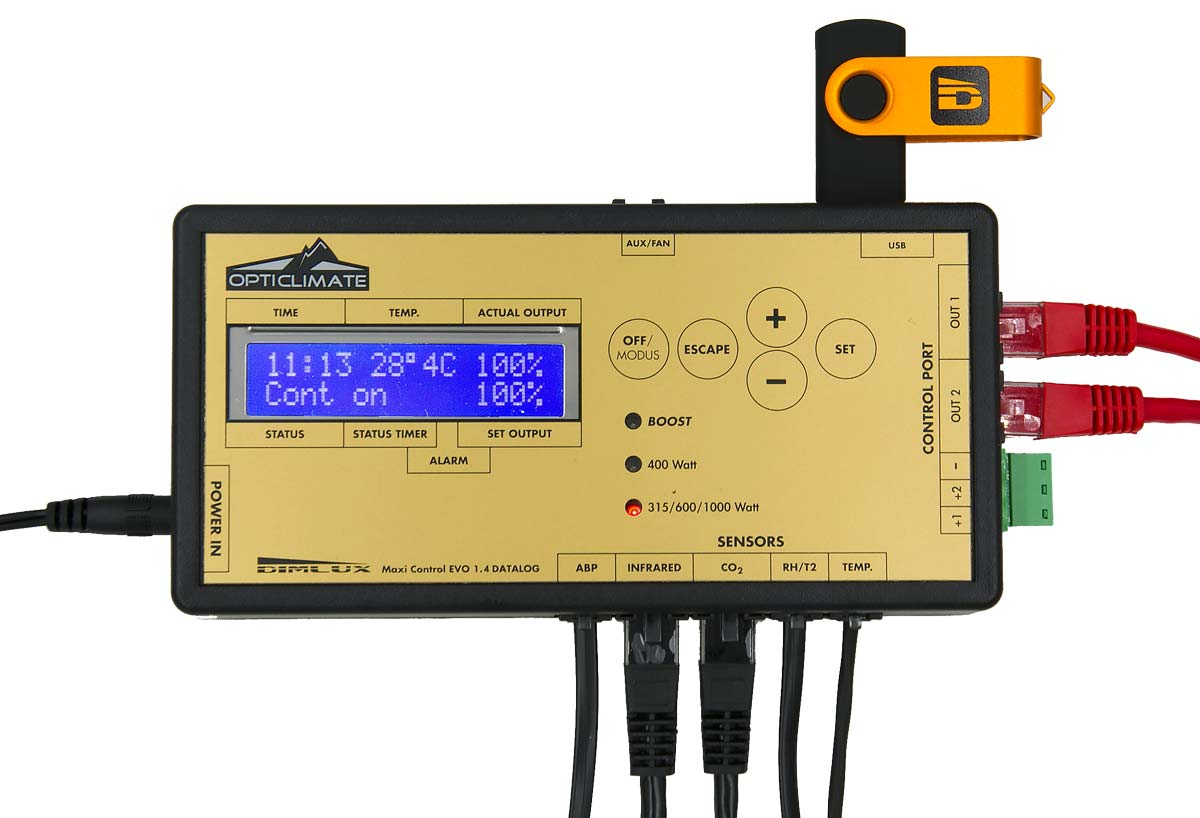 DimLux Maxi Controller with Data Logger