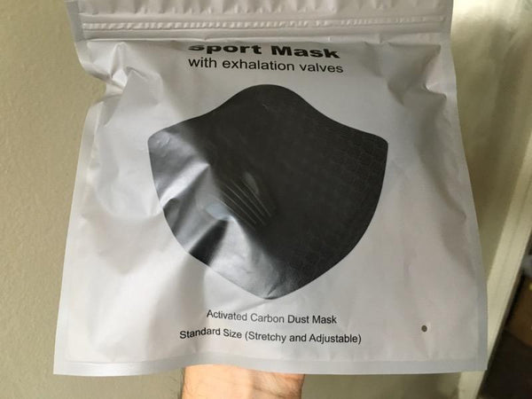 Sports Mask with Carbon Filter