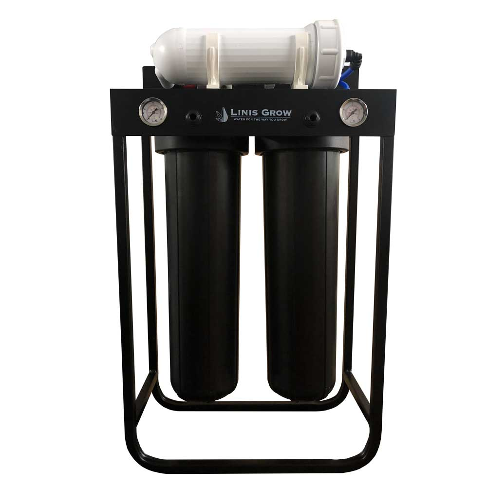 Commercial 3 Stage RO System with Catalytic Carbon Pre Filter 500 GPD