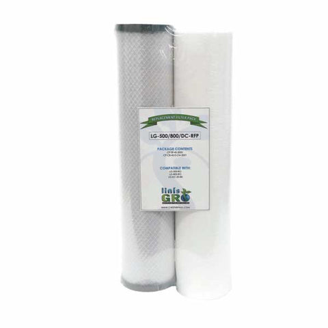 "20"" Replacement Filter Pack for 500/800 GPD RO/DE-CHLOR"
