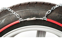 Rear connector snow chains for cars