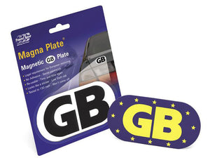 Car magnetic G B sticker