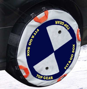 "Car Snow Socks for 13"" wheel"