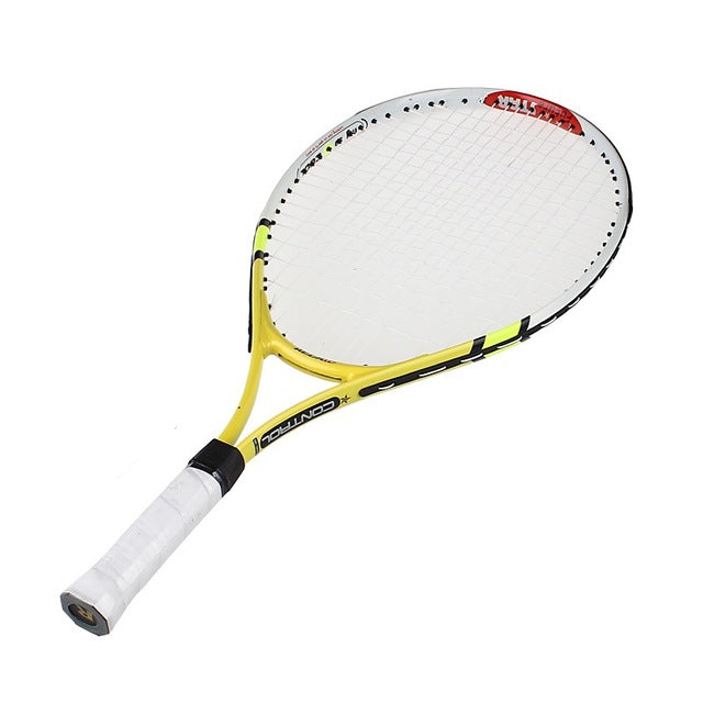 High Quality 1x New Junior Tennis Racquet Raquette Training Racket for Kids Youth Childrens Tennis Rackets with Carry Bag Hot