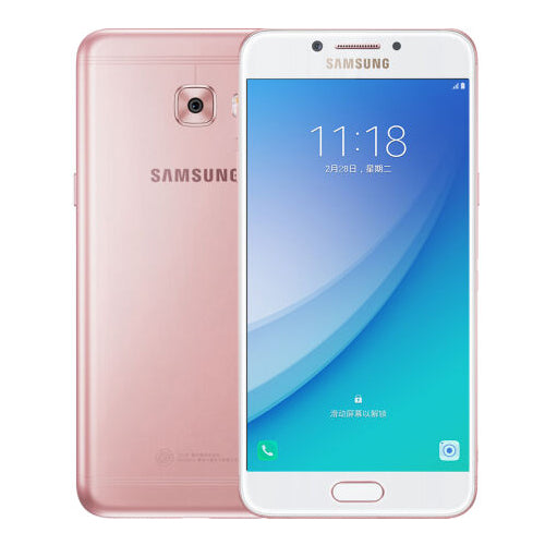 "New Original Samsung Galaxy C5 Pro 2017 Mobile Phone Qualcomm 4G+64G Fingerprint Octa Core Dual SIM 5.2"" 2600mAh 16MP 4G LTE"