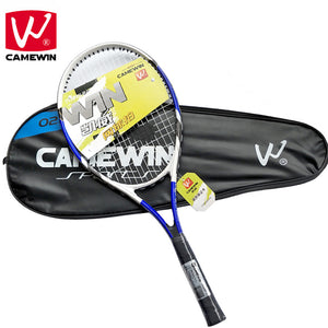 CAMEWIN Brand 1 Piece Tennis Racket High Quality Carbon Fiber Woman and Men Masculino Raqueta de tenis with a High-quality Bag